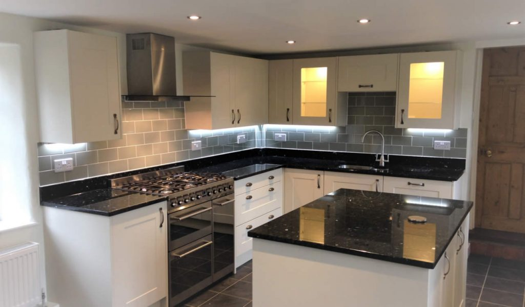 Brand New Kitchen Installation - KPC Builders, Bedford